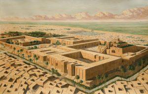 Месопотамский город