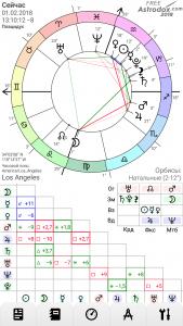 Астрологическая программа для смартфона